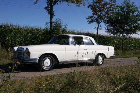 W111 3.5 Coupe weiß